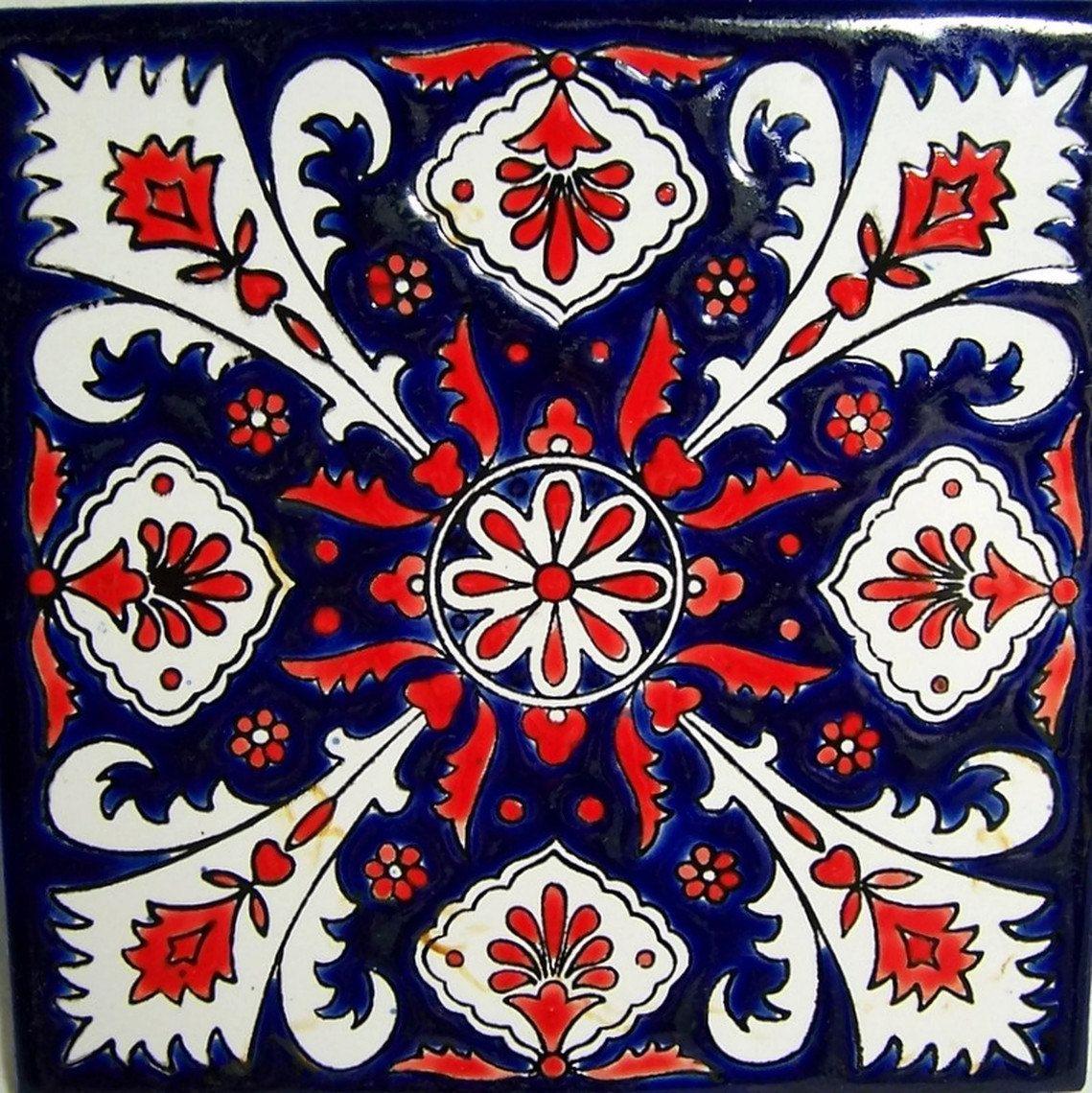 Vintage ceramic tile trivet desen pinterest vintage ceramic vintage ceramic tile trivet dailygadgetfo Choice Image