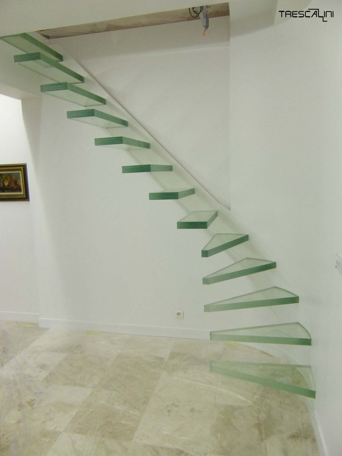 The Aero Glass is a unique staircase it has no visible fixings and yet maintains its strength like a normal staircase with fitted strings this staircase can be installed with Light Emitting Diodes (LEDs).