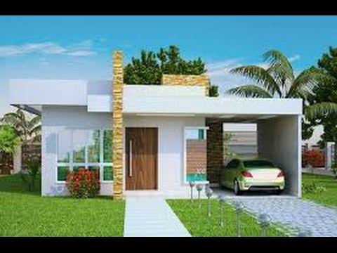 Resultado de imagen para fachadas de casas modernas 2015 for Fachadas para casas pequenas de una planta