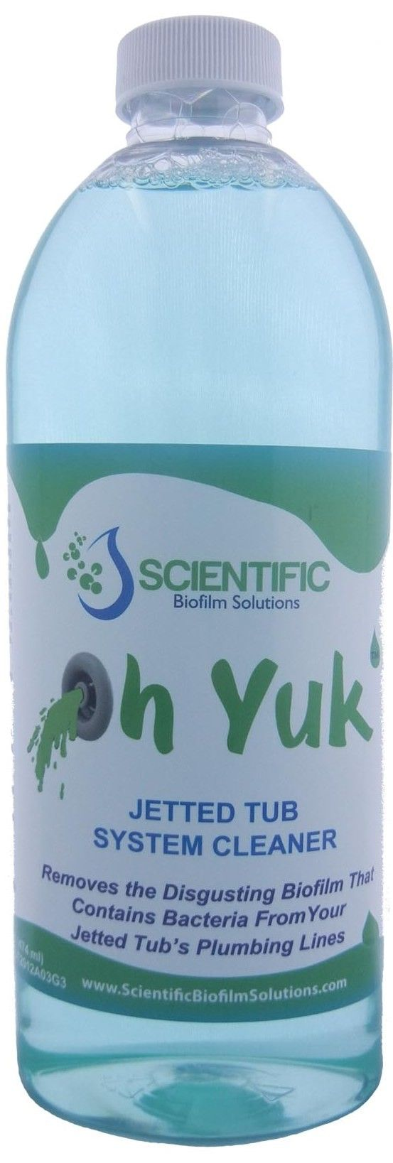 Oh Yuk Jetted Tub Cleaner- Only available online in Canada - One ...