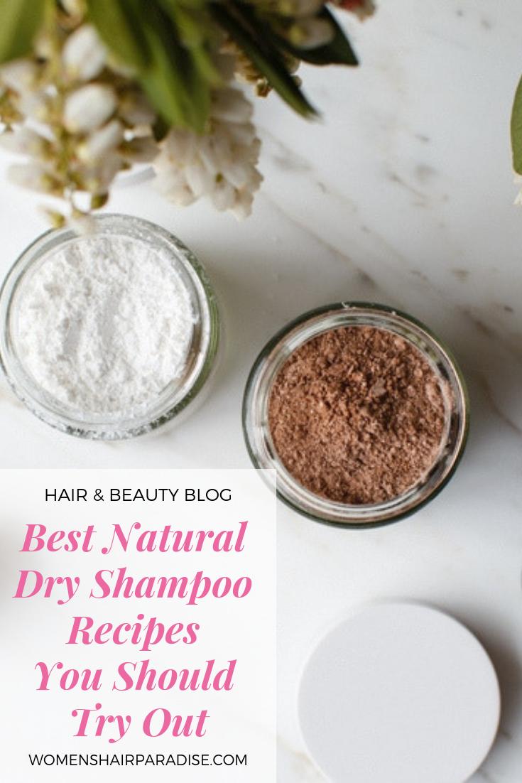 Best Natural Dry Shampoos Diy Diy Dry Shampoo Natural Dry Shampoo Dry Shampoo