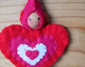 Valentine Gnome Ornament