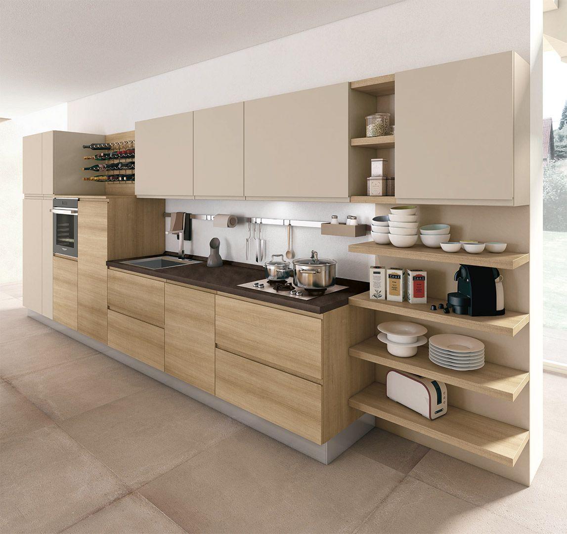 Cucina jey cucine moderne creo kitchens model jey for Decorazioni cucine moderne