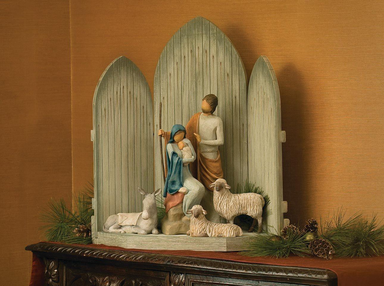 Christmas Story Nativity Figures