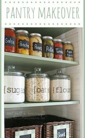 Labeling Storage Idea