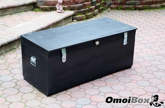 Magnificent Large Black Wooden Storage Bench With Lock Custom Storage Caraccident5 Cool Chair Designs And Ideas Caraccident5Info