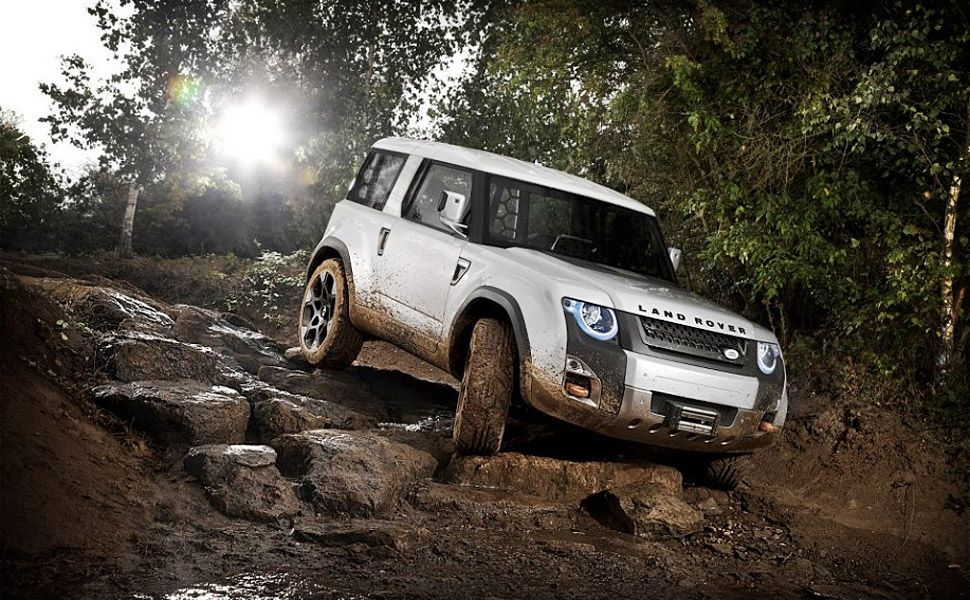 Land Rover Defender DC100 Concept New land rover