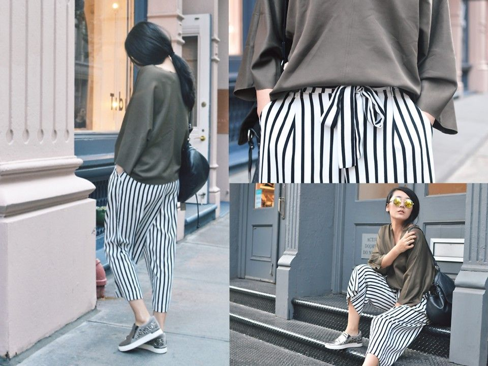 How To Wear Stripes Ever So Casually But Oh So Chic Ly Chic Outfits How To Wear Fashionista