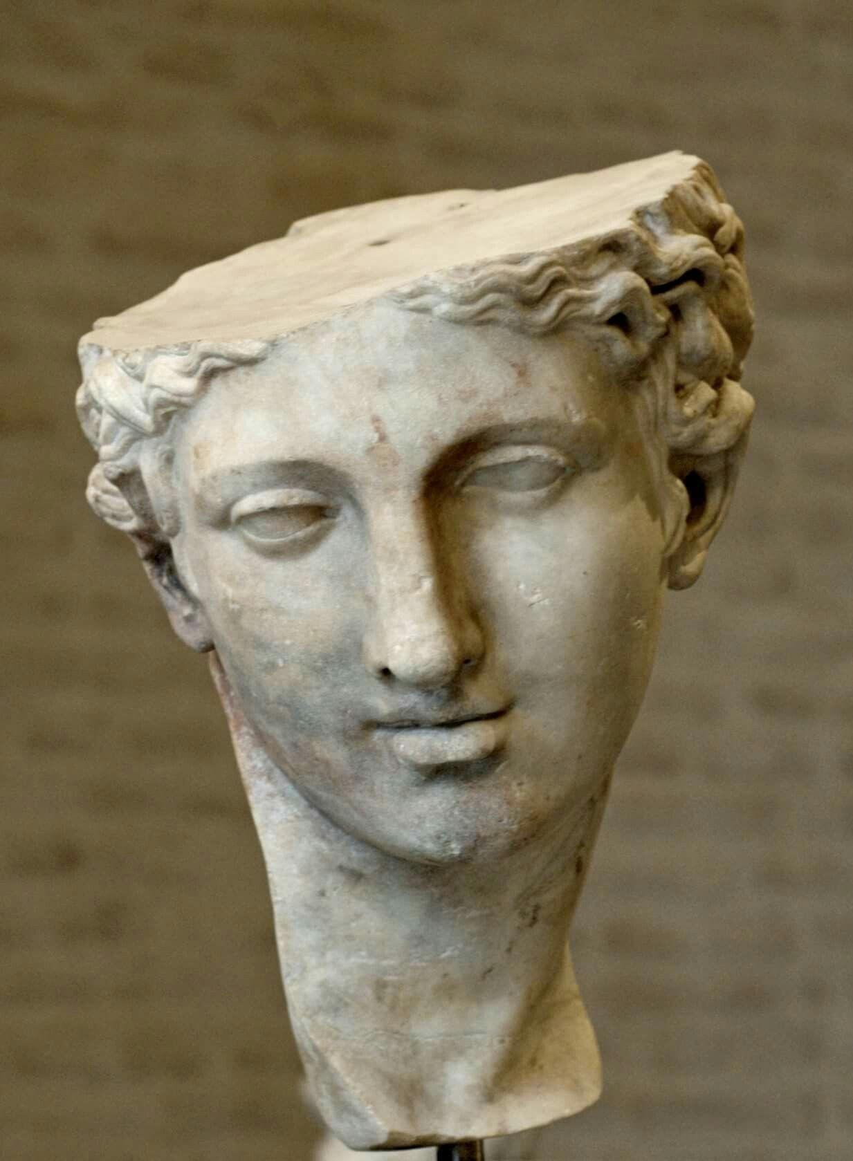 Head Of Statue Aphrodite Copy Greek Original