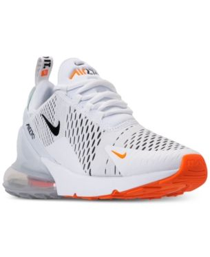 Nike Men s Air Max 270 Casual Sneakers from Finish Line - White 11 ... 5c1356164