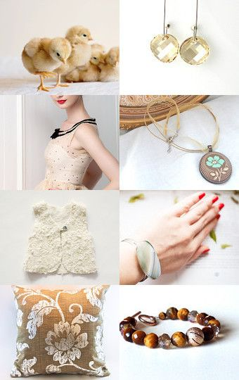 My spring is golden by Asta Kundelyte on Etsy--Pinned with TreasuryPin.com