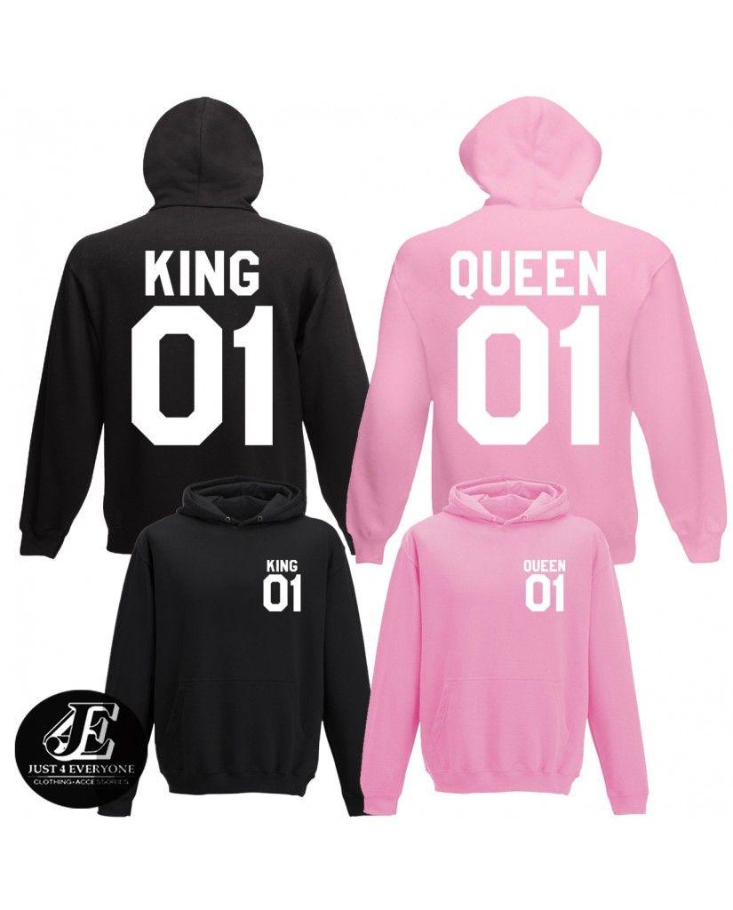 king queen hoodies king queen matching
