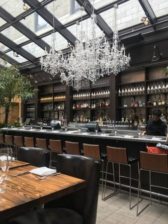 the glamorous nomo kitchen restaurant is located inside of the stylish nomo soho hotel the magnificent menu and upscale dcor take a globally inspired - Nomo Kitchen