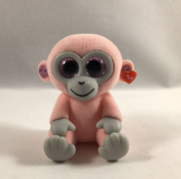 TY Beanie Boos Mini Boo COCONUT the Monkey Series 1 Collectible Figure 2 inch
