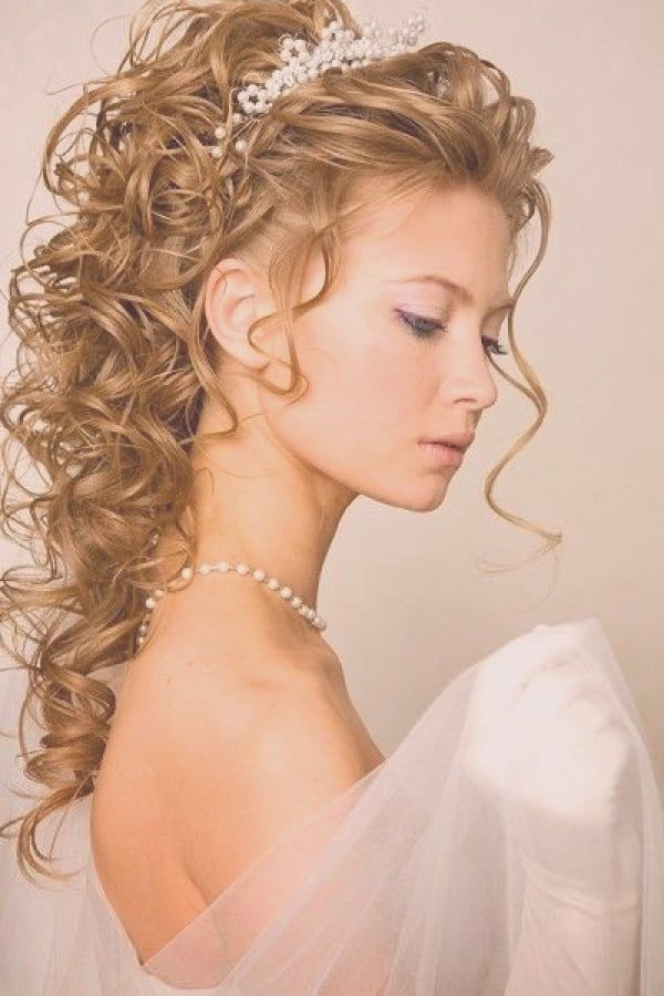 38++ Coiffure cheveux mi long mariage inspiration