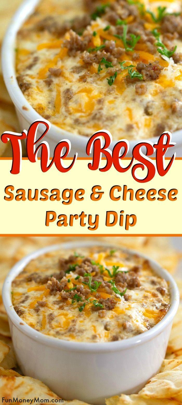 Wurst & Käse Party Dip