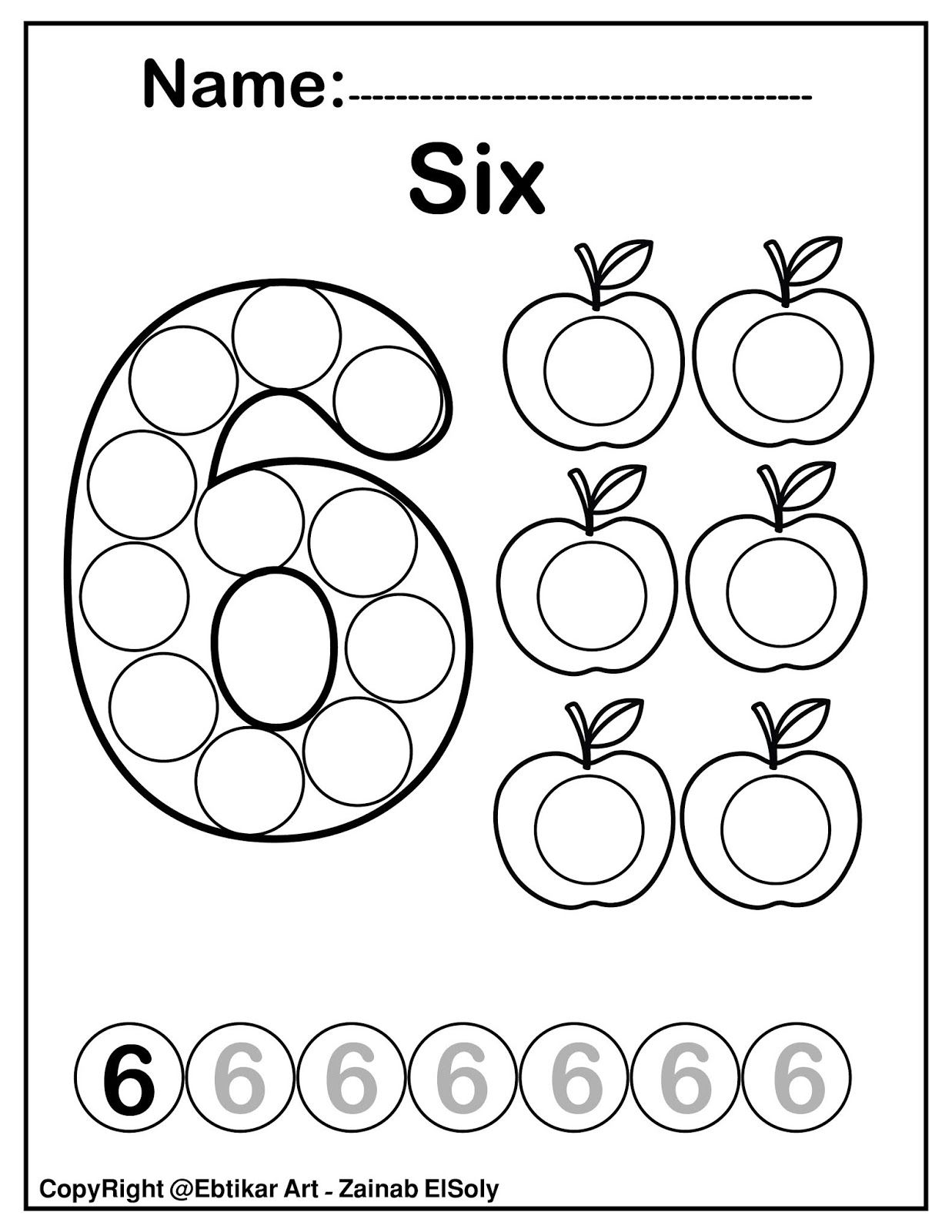 Set Of 123 Numbers Count Apples Dot Marker Activity Coloring Pages For Kids Dot Marker Activities Dot Markers Numbers Preschool Printables [ 1600 x 1237 Pixel ]
