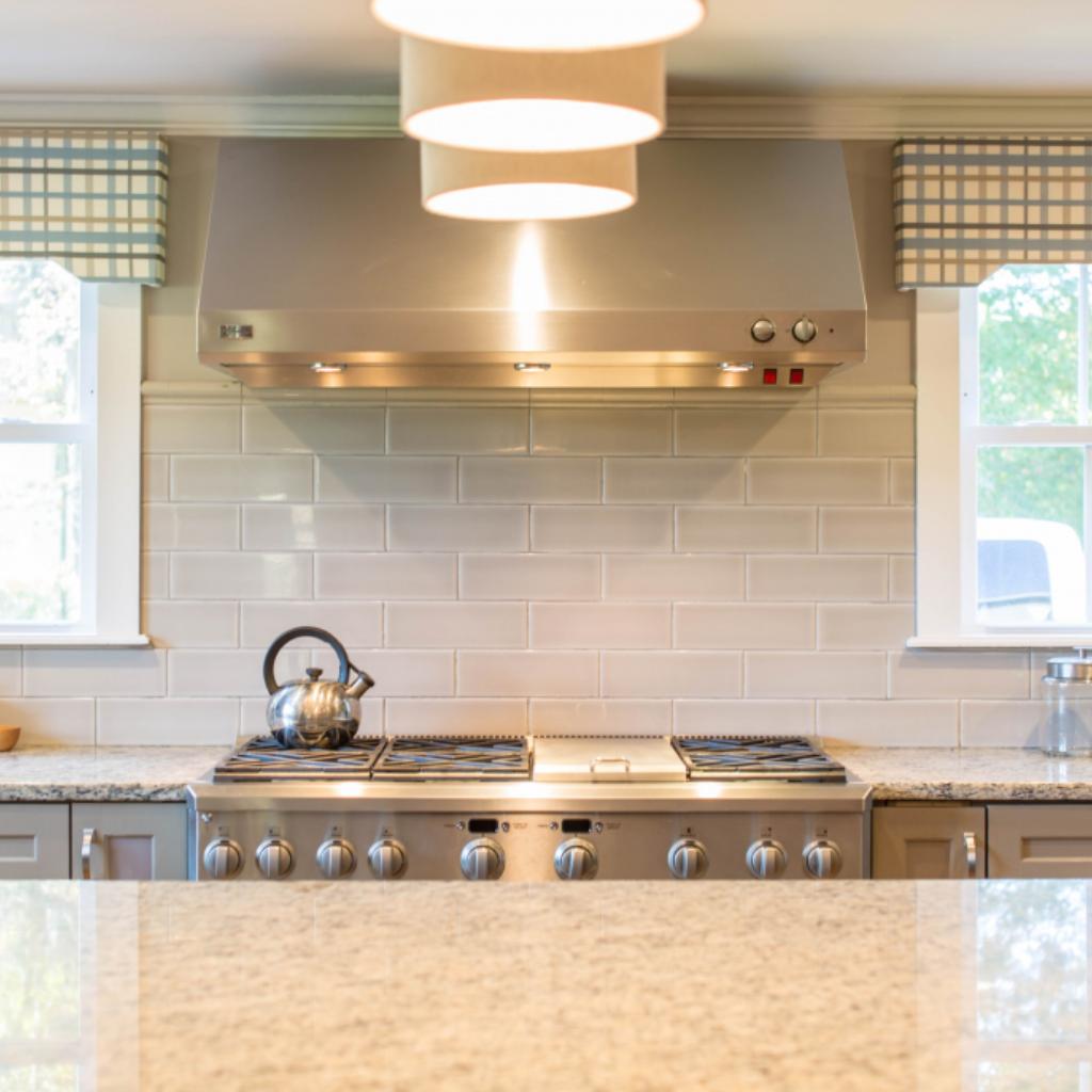 Porcelain or Ceramic Tile [Best Kitchen Backsplash Materials