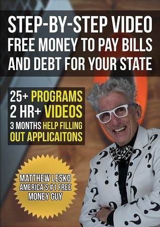 Step-By-Step Video: Free Money To Pay Bills & Debt For Your