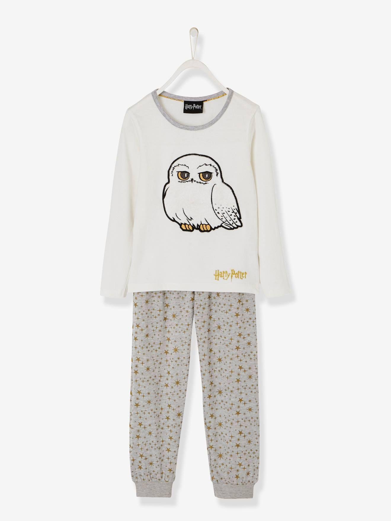 """efa6e2ffbea18 Pyjama fille Harry Potter® ivoire - Trop """"chouette"""" ! Un pyjama Harry Potter"""