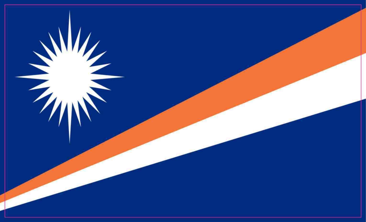 5x3 Flag Of The Marshall Islands Sticker Truck Bumper Stickers Vinyl Decal Truck Bumper Stickers Bumper Stickers Marshall Islands Flag [ 930 x 1530 Pixel ]