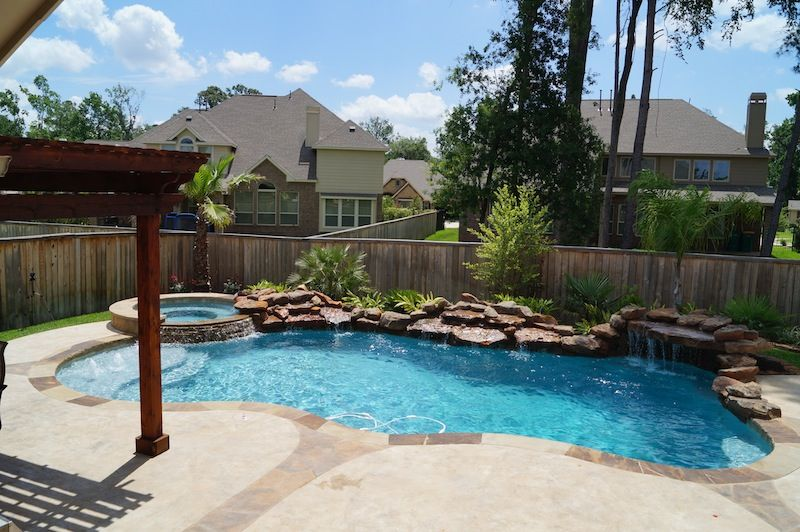 Swimming Pool Design Photos The Woodlands Spring Conroe Pool Ideas Pinterest Pool