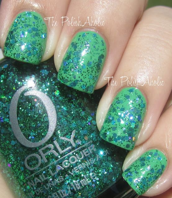 The PolishAholic: Orly Flash Glam FX Mermaid Tale Swatch | Nails ...