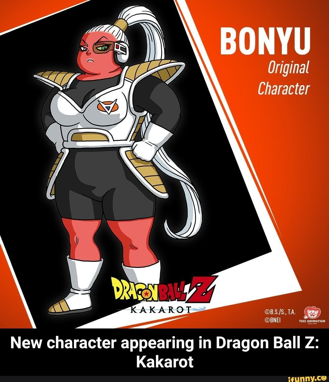 Bonyu Original Character New Character Appearing In Dragon Ball Z