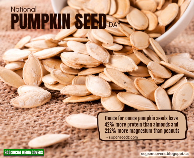 Banners National Pumpkin Seed Day October Nationalpumpkinseedday Pumpkin Seeds Pumpkin Seeds