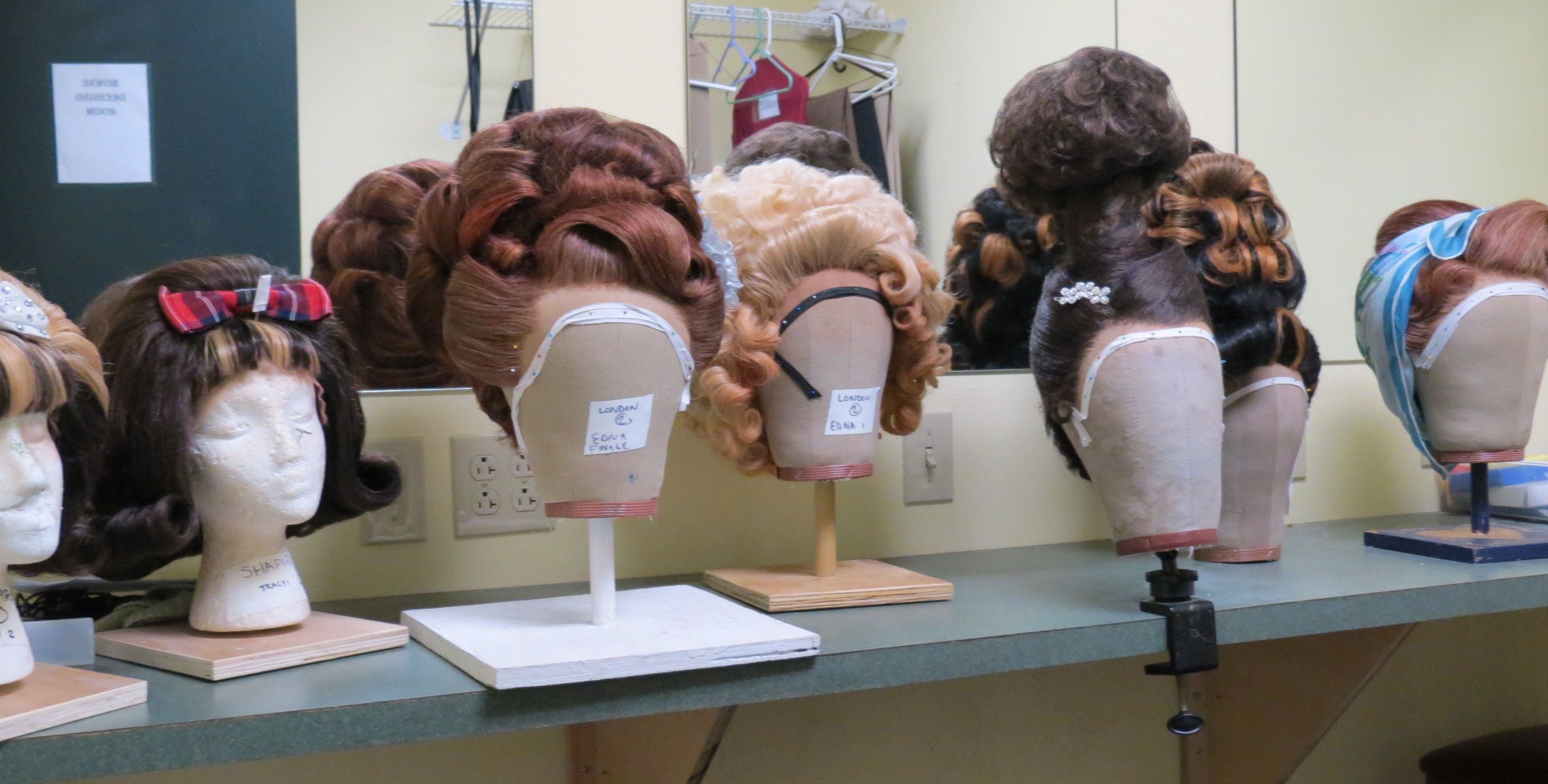 Wigs In Theatre Hairspray musical, Hairspray, Musicals