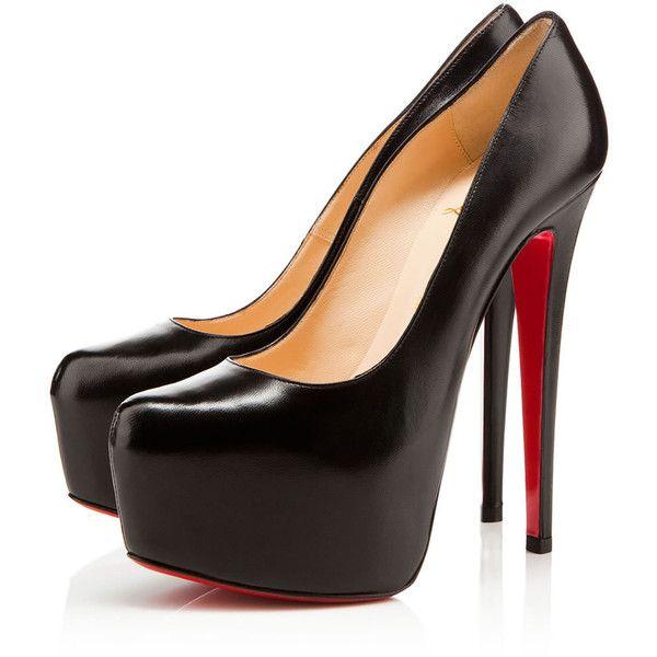 christian louboutin black high heel