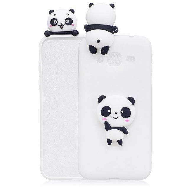 coque samsung j3 2017 panda 3d