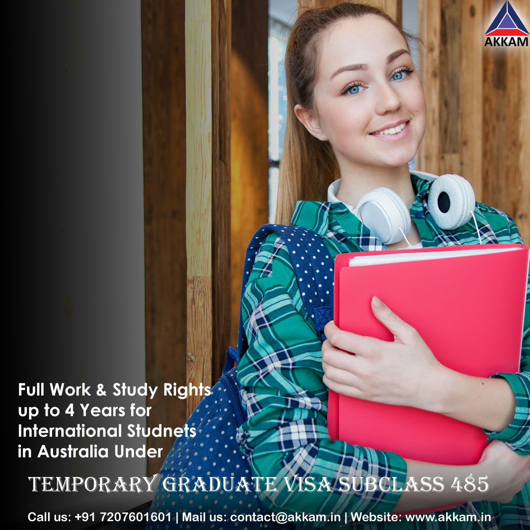 Temporary Graduate Visa Subclass 485 Updates For International