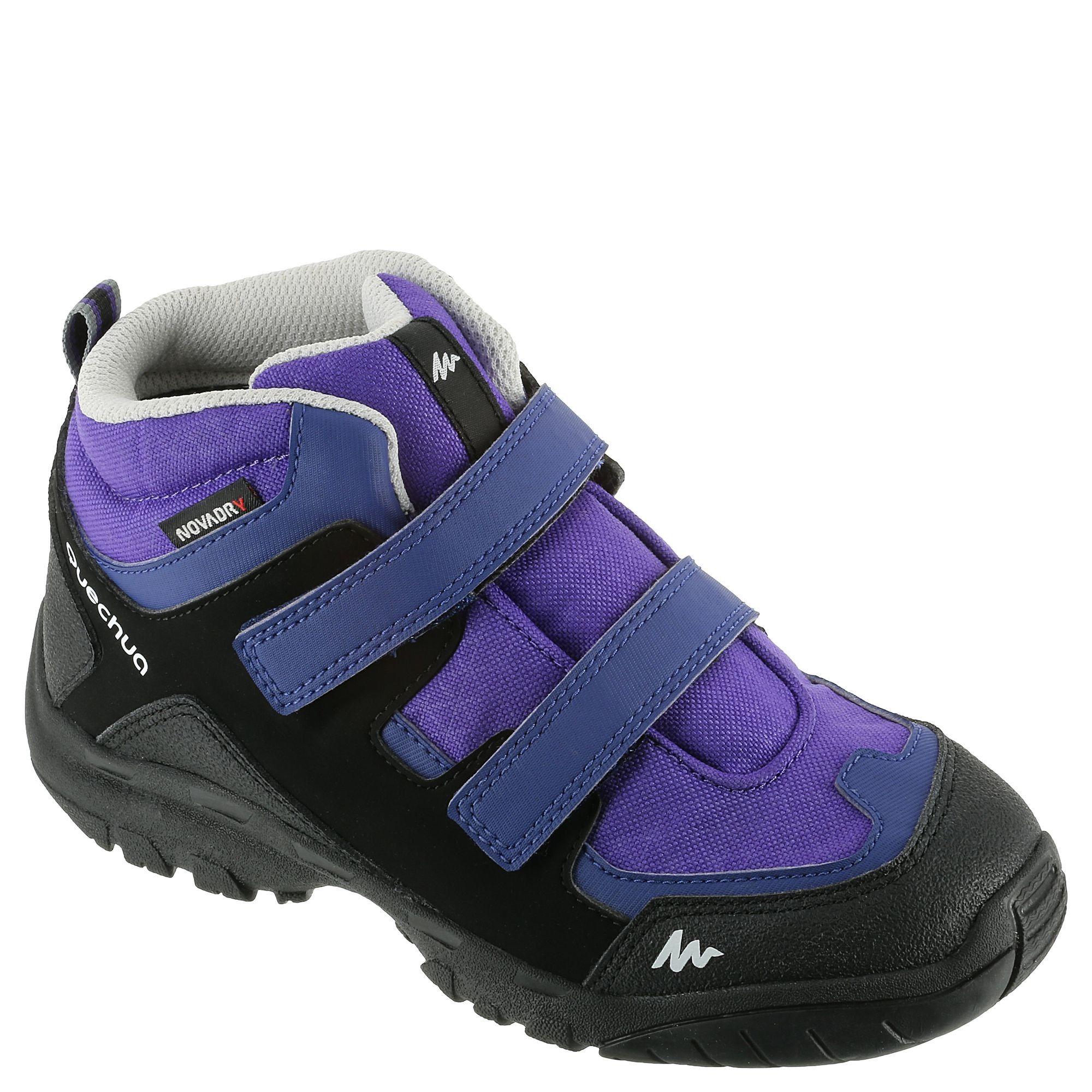 Buty Turystyczne Wysokie Dla Dzieci Arpenaz 100 Quechua Turystyka Junior Kids Outfits Fisherman Sandal Shoes