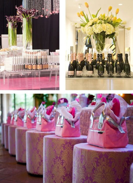 Pink Parties Breast Cancer Awareness Bridal Shower