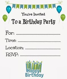 picture relating to Free Printable Boy Birthday Invitations called Pin upon jaya
