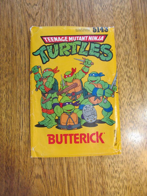 TMNT Teenage Mutant Ninja Turtle Children's by PlatypusDream