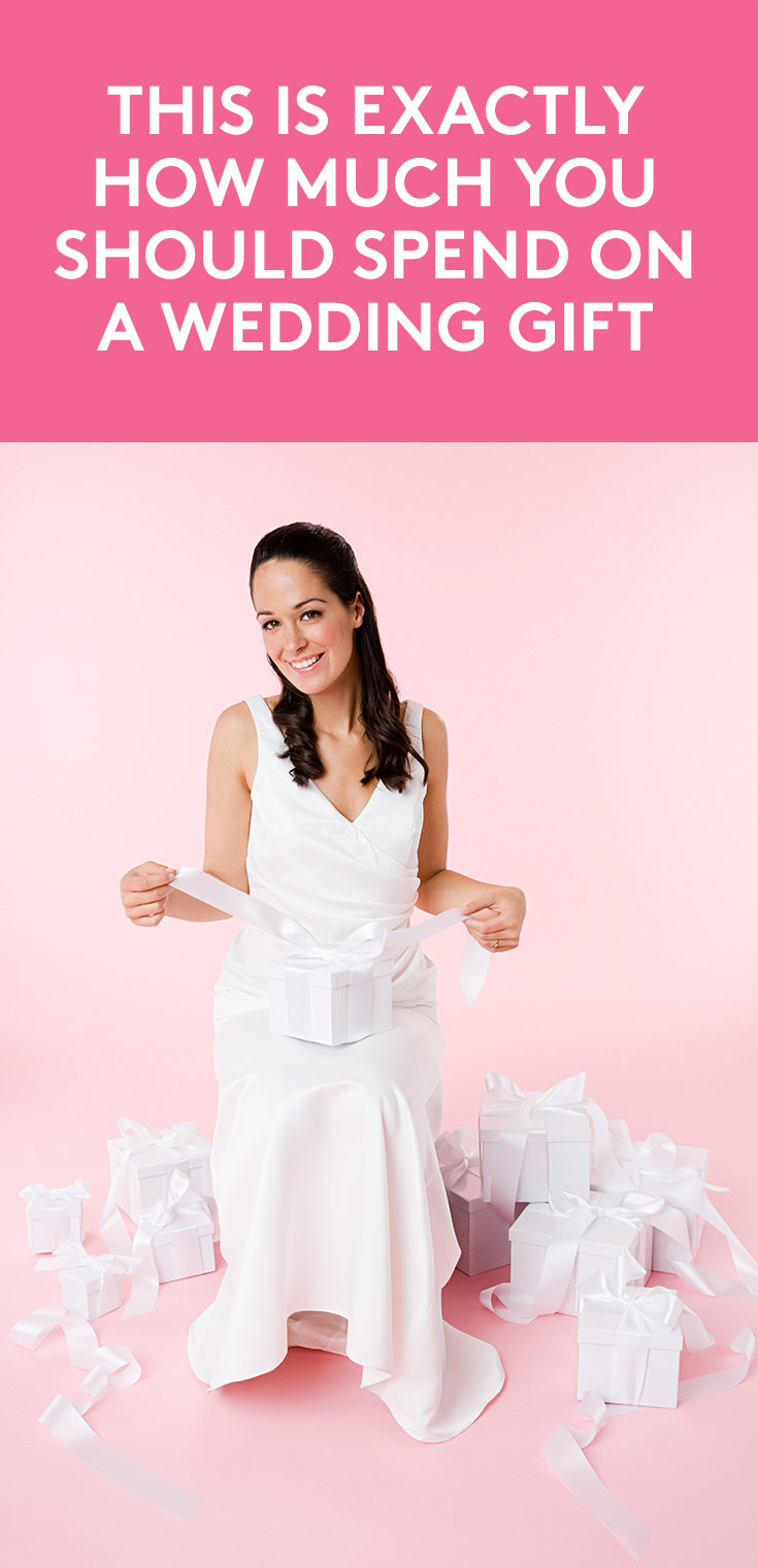 Heres Exactly How Much You Should Spend on a Wedding Gift photo