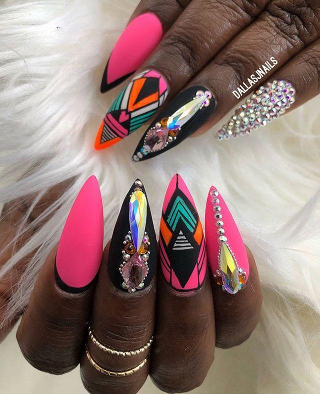 Pin by beauTi on Nails   Pinterest   Nail inspo, Nail nail and Manicure