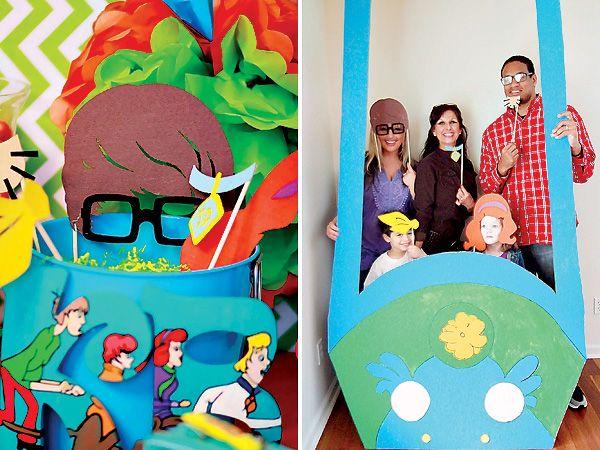 {Bright & Fun} Scooby Doo Birthday Party!Photobooth