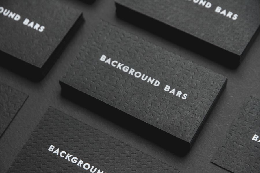 New Logo for Background Bars by Campbell Hay — BP&O | White ink ...