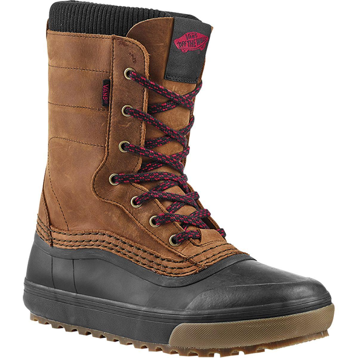 Vans Hi Standard Zip Snow Boot in 2020