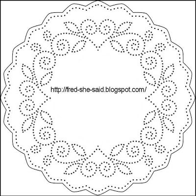 Paper piercing templates free digital design for Paper pricking templates