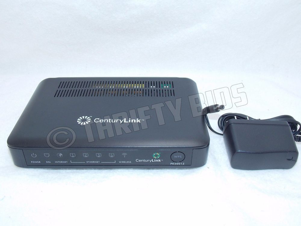 CenturyLink ZyXEL PK5001z Wireless DSL Modem Router
