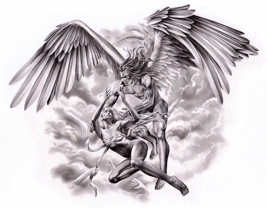 считают жестким картинки для тату ангел желудка тоже праздник