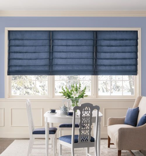 Bali Tailored Roman Shades Solid Colors In