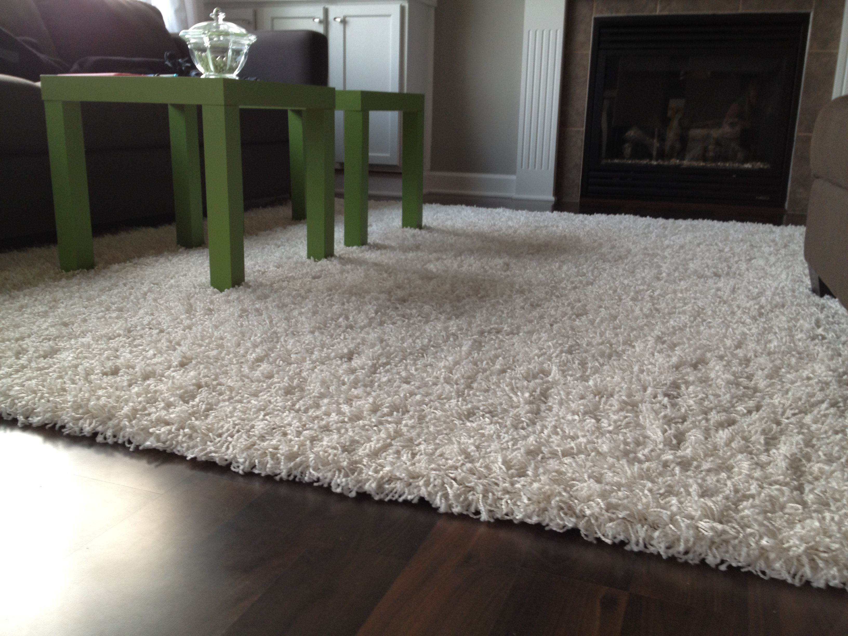Living Room Cute White Large Area Rugs For Living Room Design With Hand  Tufted White Living Room Shaggy Area Rug Also Green Coffe Table And Dark  Brown ...
