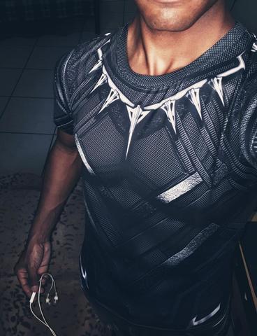 Black Panther Is One Of The 2018 Superhero Limited Editions Blackpanther Superhero Rashguard Bjj Black Panther T Shirt Black Panther Shirt Compression Shirt