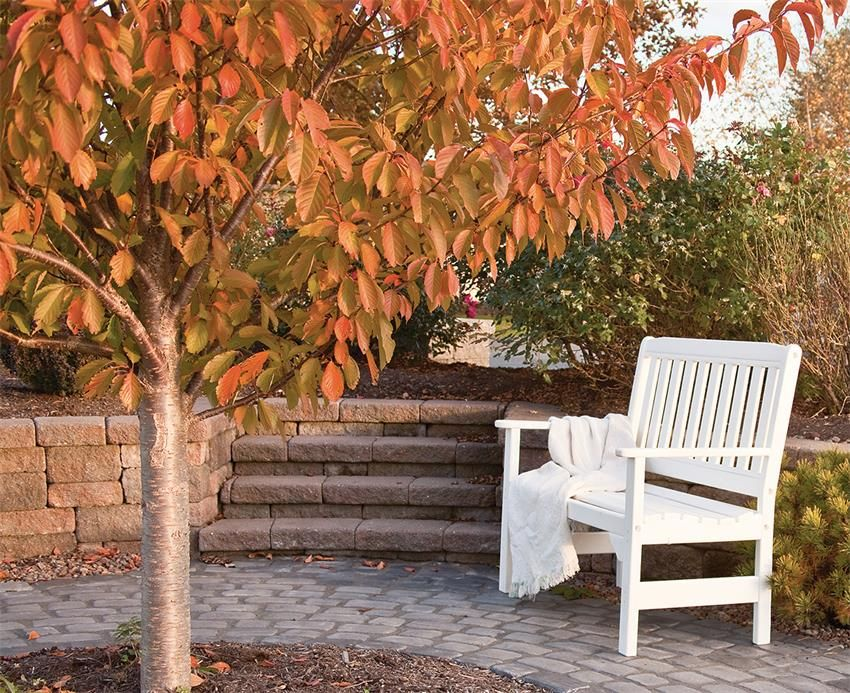 Amish 4' English Garden Poly Bench is part of English garden Bench -  	Amish Recycled Poly Lumber 4' English Garden Bench 	Leisure Lawns Collection 	Overlooking your garden or placed on your porch or patio, the versatility of our Poly English Garden Bench shines in any outdoor decor!  Crafted with a classic garden design, a gently curved seat and angled slat back, you and your guests can enjoy this comfortable bench for hours on end   Choose the perfect color, or combine two and get a bench that will compliment any outdoor space!  Add the matching cupholder and your new bench will also have a convenient place to rest your drink as you relax and enjoy the outdoors  	Poly Furniture Benefits 	Each 4' Poly English Garden Bench is handmade by the Amish in Lancaster, PA   These American Made Poly Benches are crafted from an ecofriendly material called poly lumber, derived from post consumer recycled milk jugs and detergent containers   This not only keeps them out of landfills, but also goes into producing a piece of outdoor furniture that is resistant to fading from sun exposure, splintering and cracking from rain or snow and requiring sanding and resealing like wooden pieces   Your investment in outdoor furniture will last decades with our Leisure Lawns Poly Furniture   And, to prove it, each piece comes with a 20 year residential warranty for peace of mind  	Create the perfect patio set when you add the matching Poly English Garden Coffee Table and Arm Chair