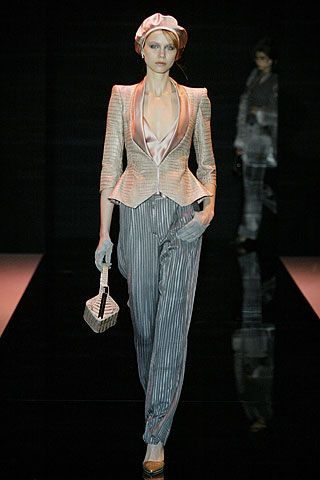 Armani Privé - Fall 2005 Couture - Look 8 of 52